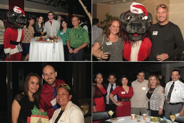 LMU Staff Senate Holiday Party 2014 Collage