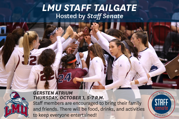 2015 Women's Volleyball Game & Staff Tailgate